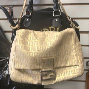 Beautiful Gold Fendi Bag